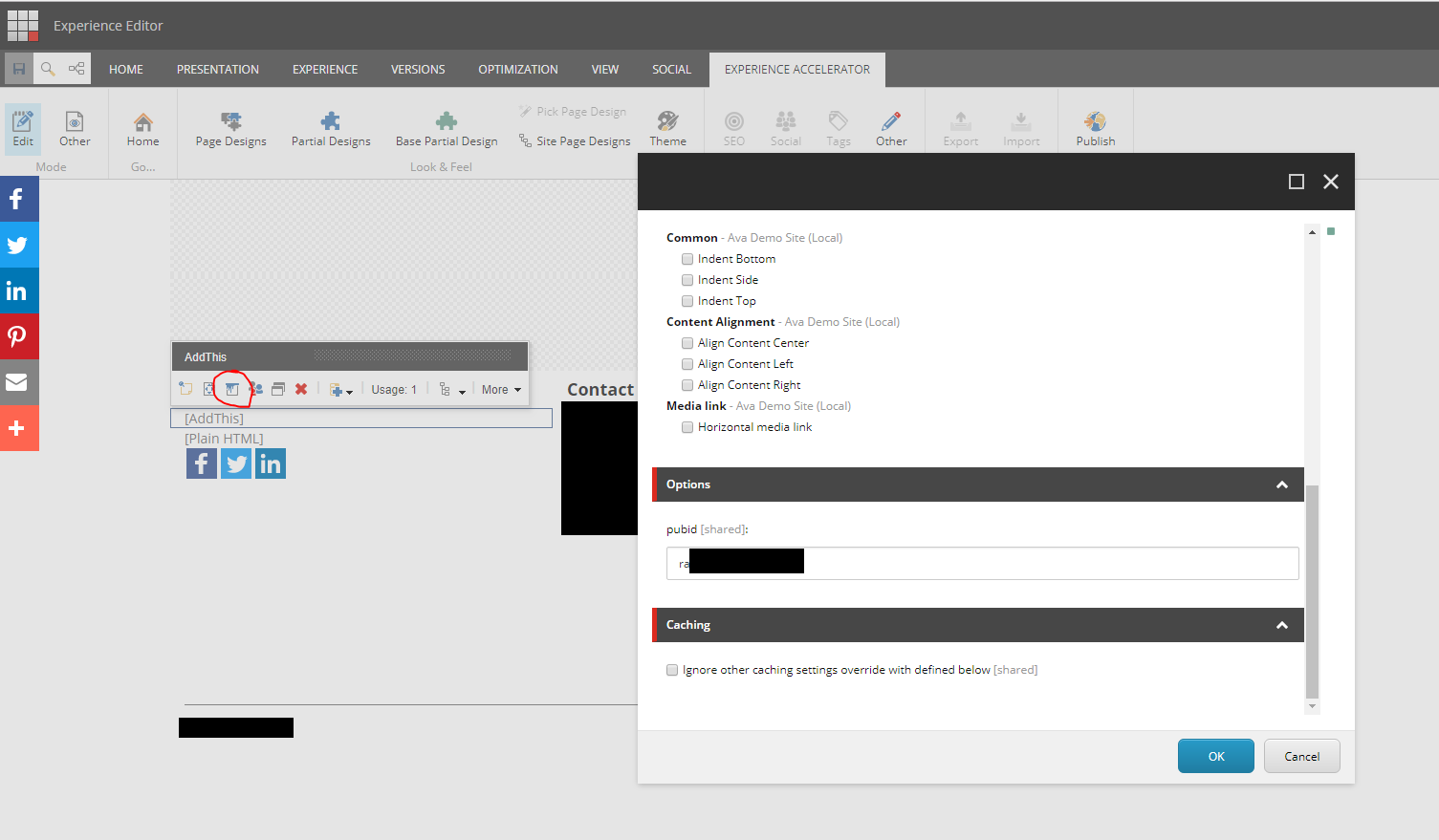 Social Sharing in Sitecore 9 – straight to the core