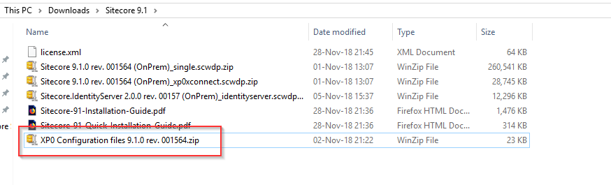 Sitecore 9.1 Installation 04
