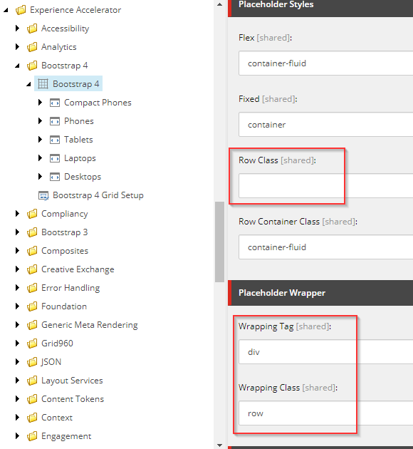 Fixing Bootstrap 4 Grid system for Sitecore SXA 1 8
